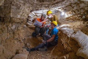 Excavación en Israel