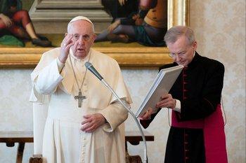 Papa Fracisco en el Vaticano