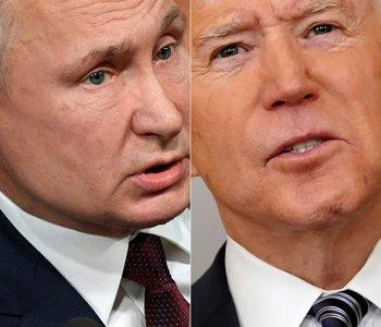 Vladmir Putin y Joe Biden