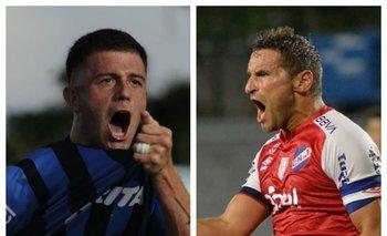 Ramírez y Bergessio, el duelo de goleadores.