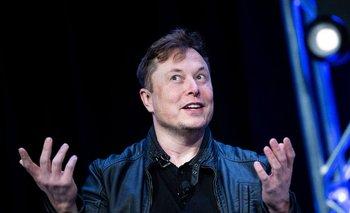 Elon Musk durante una conferencia de prensa en Washington