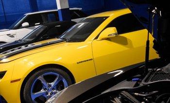 Los cuatro autos de lujo se vendieron por US$ 450 mil
