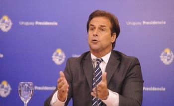 El presidente Luis Lacalle Pou