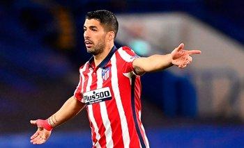 Suárez en Atlético