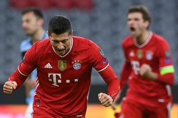 Lewandowski, goleador del Bayern