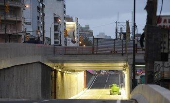 El túnel se inauguró este jueves
