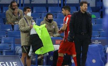 El gesto de Suárez cuando fue sustituido habla por él.