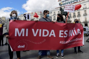 Madrid, discusión ley de eutanasia