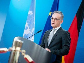 HeikoMaas, ministro de Relaciones Exteriores de Alemania