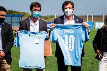 Ignacio Alonso y Alejandro Domínguez