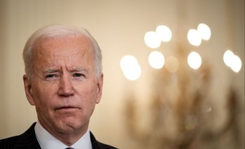 Joe Biden durante un discurso en Washington