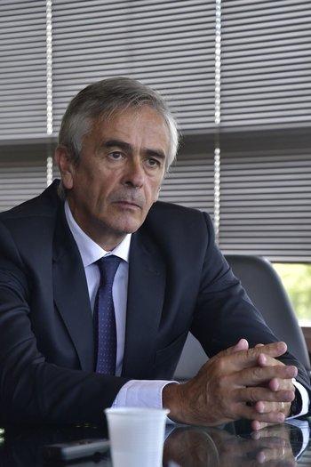 Alfredo Antía, presidente de la Cámara de Industrias