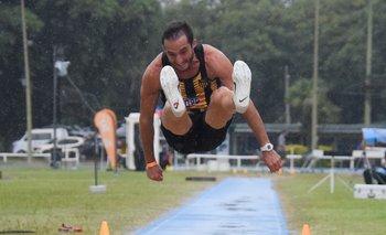 El salto de Emiliano Lasa en San Pablo fue formidable