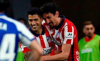 Luis Suárez busca un nuevo gol para Atlético de Madrid