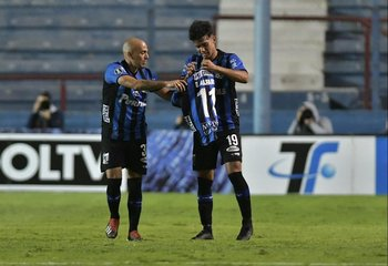 Almeida y Rosso con la 11 de Alfaro