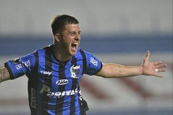 El Colo Ramírez, 22 goles en la temporada