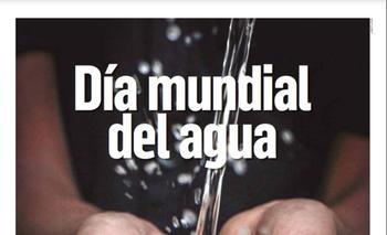 Una publicación sobre el Día Mundial del Agua