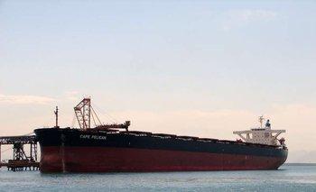 """Las operativas que involucran buques """"capesize"""" demandan logísticas especiales en los puertos."""