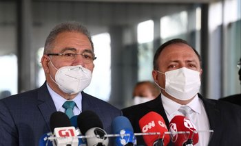 Ministros de Salud de Brasil: el entrante y el saliente