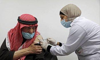 Vacunación contra el covid-19 en Palestina