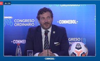 Congreso virtual de Conmebol en Asunción presidido por Alejandro Domínguez