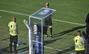 Desde su llegada, el VAR se utilizó muy poco en el fútbol uruguayo