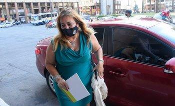 Irene Moreira compareció ante el Congreso de Intendentes el 25 de abril
