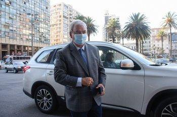 """El ministro de Transporte y Obras Públicas, Luis Alberto Heber, planteó su idea de """"peajes satelitales"""" para rutas"""