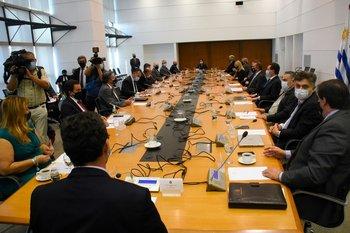 La última vez que se reunió el Consejo de Ministros fue el 28 de abril