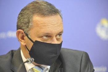El secretario de Presidencia, Álvaro Delgado