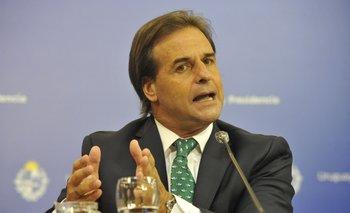 El presidente de la República, Luis Lacalle Pou, anunció que las medidas sanitarias se irán evaluando semanalmente