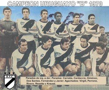 El equipo de 1970