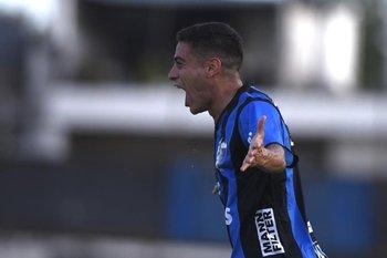 Camilo Cándido, el 1-0 e imparable en subida