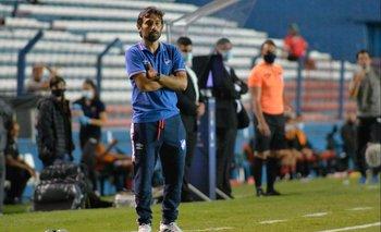 Martín Ligüera, entrenador de Nacional