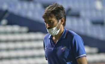 Ligüera en su debut en Nacional