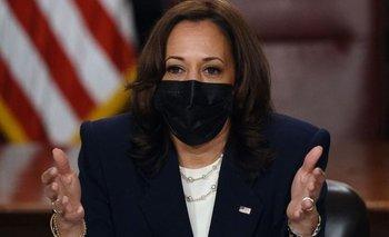 Kamala Harris, vicepresidenta de EEUU