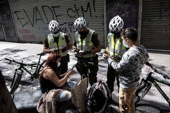 Chile, control en las calles