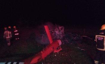 El accidente ocurrió en la ruta 9