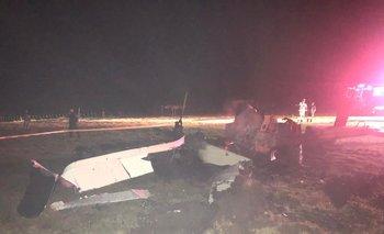 El helicóptero salió de Montevideo con destino a Rocha en la madrugada y debió aterrizar de emergencia en el kilómetro 184 de la ruta 9