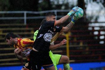 Rafael Sánchez, el arquero de Progreso que jugó inhabilitado ante Wanderers