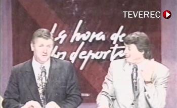 Alberto Sonsol y Sergio Gorzy en La Hora de los Deportes