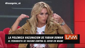 La panelista de Los Ángeles de la Mañana se vacunará en Estados Unidos