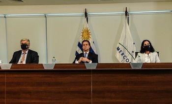 La representación uruguaya en la cumbre del Mercosur