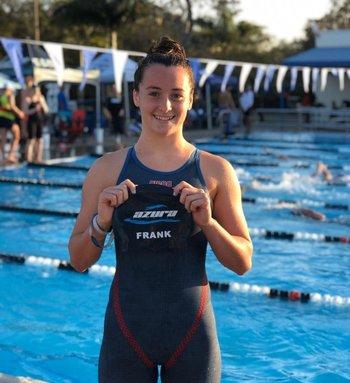 Nicole Frank es la séptima clasificada: obtuvo el cupo y representará a  Uruguay en Tokio 2020