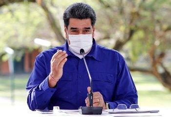 Maduro ya ha criticado a Facebook por censurarle videos relacionados con el Carvativir.