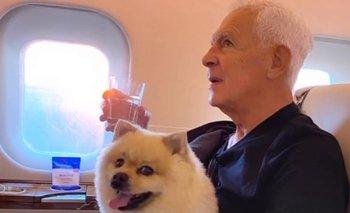 Eduardo Costanini en su viaje a Uruguay