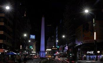 La ciudad de Buenos Aires antes de la Hora del Planeta del pasado 27 de marzo