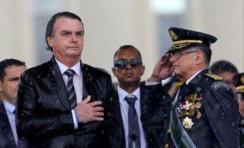 Jair Bolsonaro con Edson Pujol
