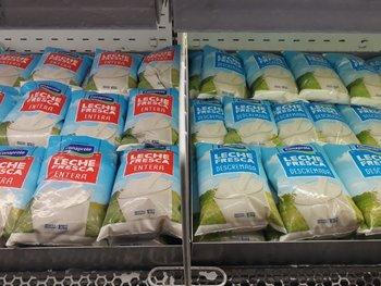 El incremento en el precio de la leche tarifada fue menor a los del año 2020.