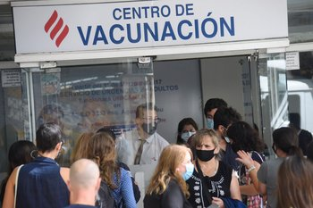 Centro de vacunación contra el coronavirus
